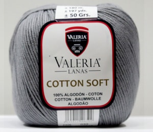 Cotton Soft 033-Gris Oscuro