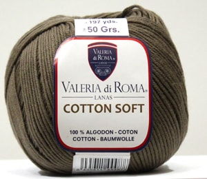 Cotton Soft 086-Marrón Tierra
