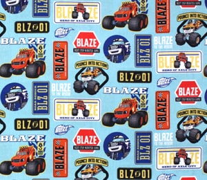 Tela Blaze Monster Machines