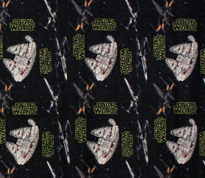 Tela Star Wars Nave